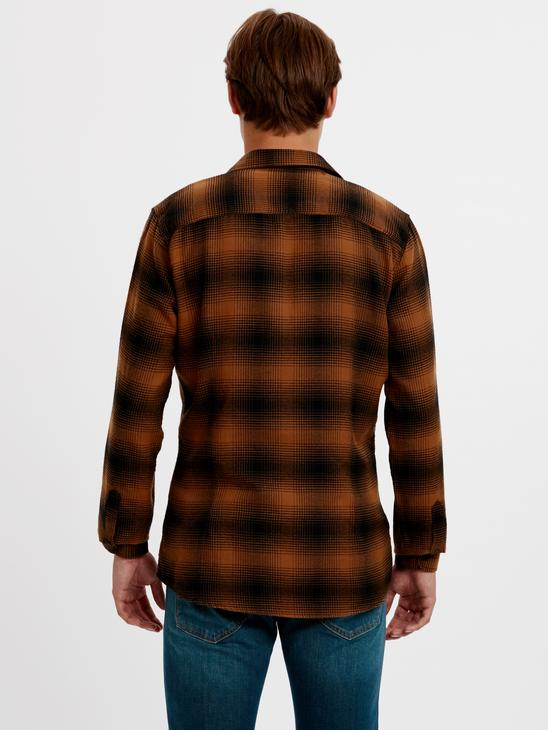 Brown - Shirt - 8W0872Z8