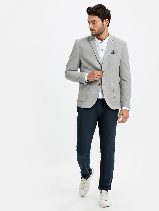 Grey - Jacket - 8WG415Z8