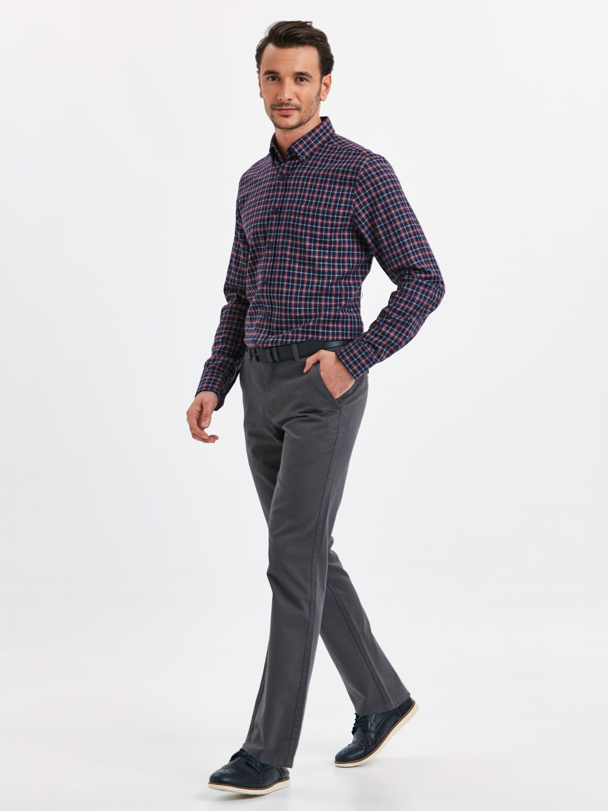 Anthracite - Trousers - 8W0887Z8
