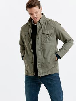 Khaki - Short Coat
