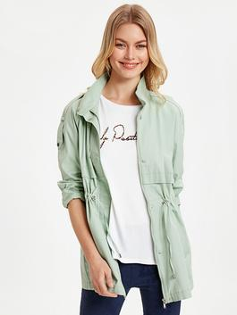 Green - Short Coat