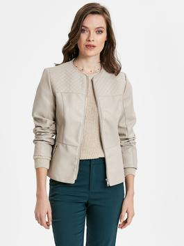 Beige - Short Coat